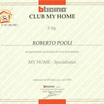 1 Bticino My Home Specialistico 2002