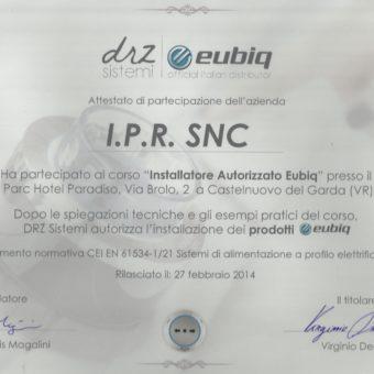 10 Eubiq Certificazione IPR