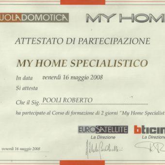 2 Bticino My Home Specialistico 2008