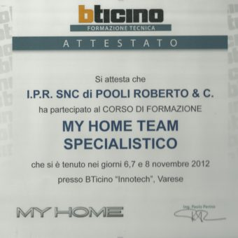 4 My Home Specialistico 2012 IPR