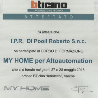 5 Bticino Altoautomation 2013 IPR